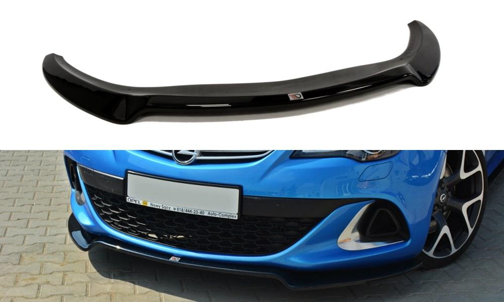 Splitter Przedni Opel Astra J OPC / VXR V.2 - GRUBYGARAGE - Sklep Tuningowy